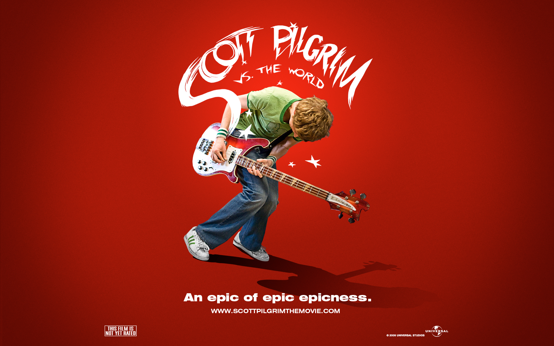 "First 'Scott Pilgrim' Poster: ""An Epic of Epic Epicness"""