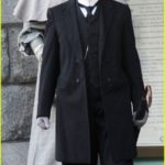 Glenn Close  Mia Wasikowska On Set Of Albert Nobbs (USA AND CANADA