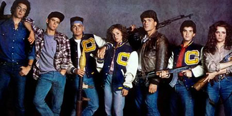 The Film Stage Red Dawn 1984 Cast Photo