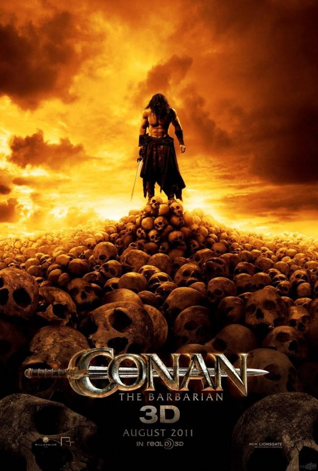 conan the barbarian poster. Conan the Barbarian stars