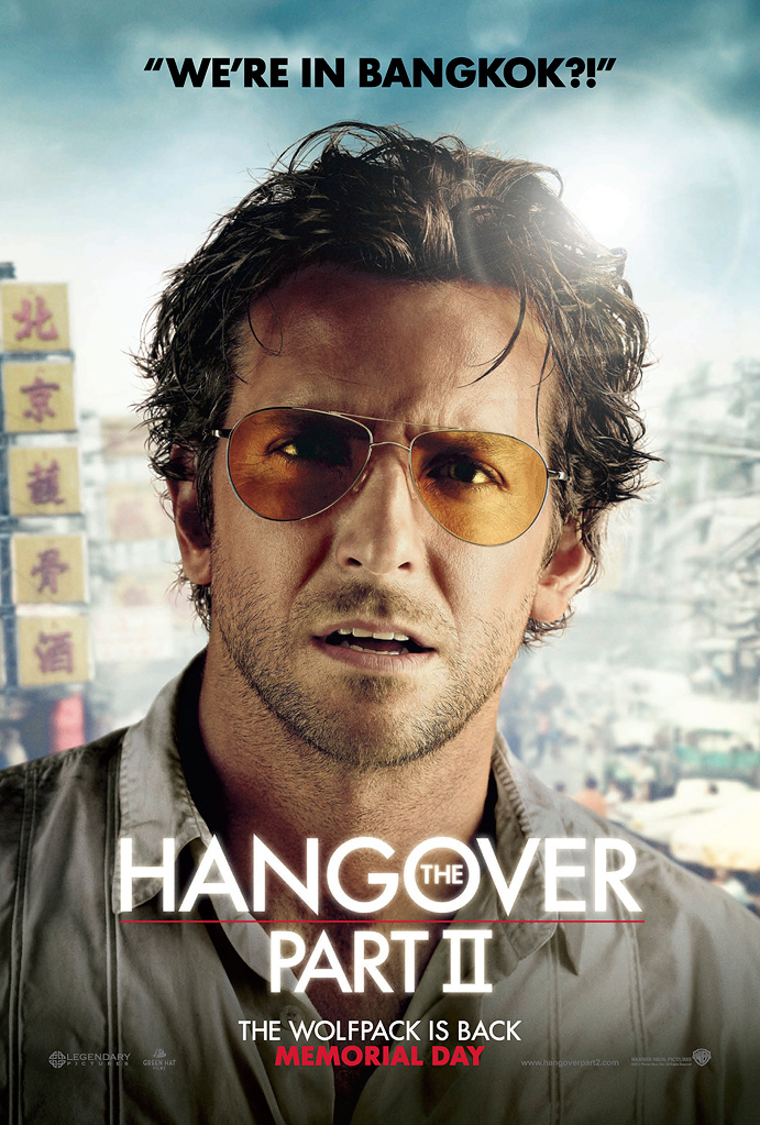The Hangover Part II' Character Posters Show Off New Wolfpack