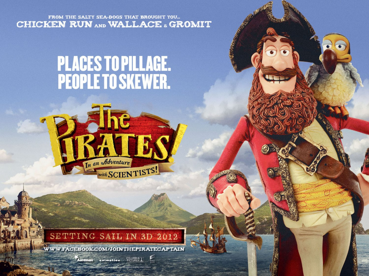 Two Trailers For Aardman Animation S The Pirates Band Of