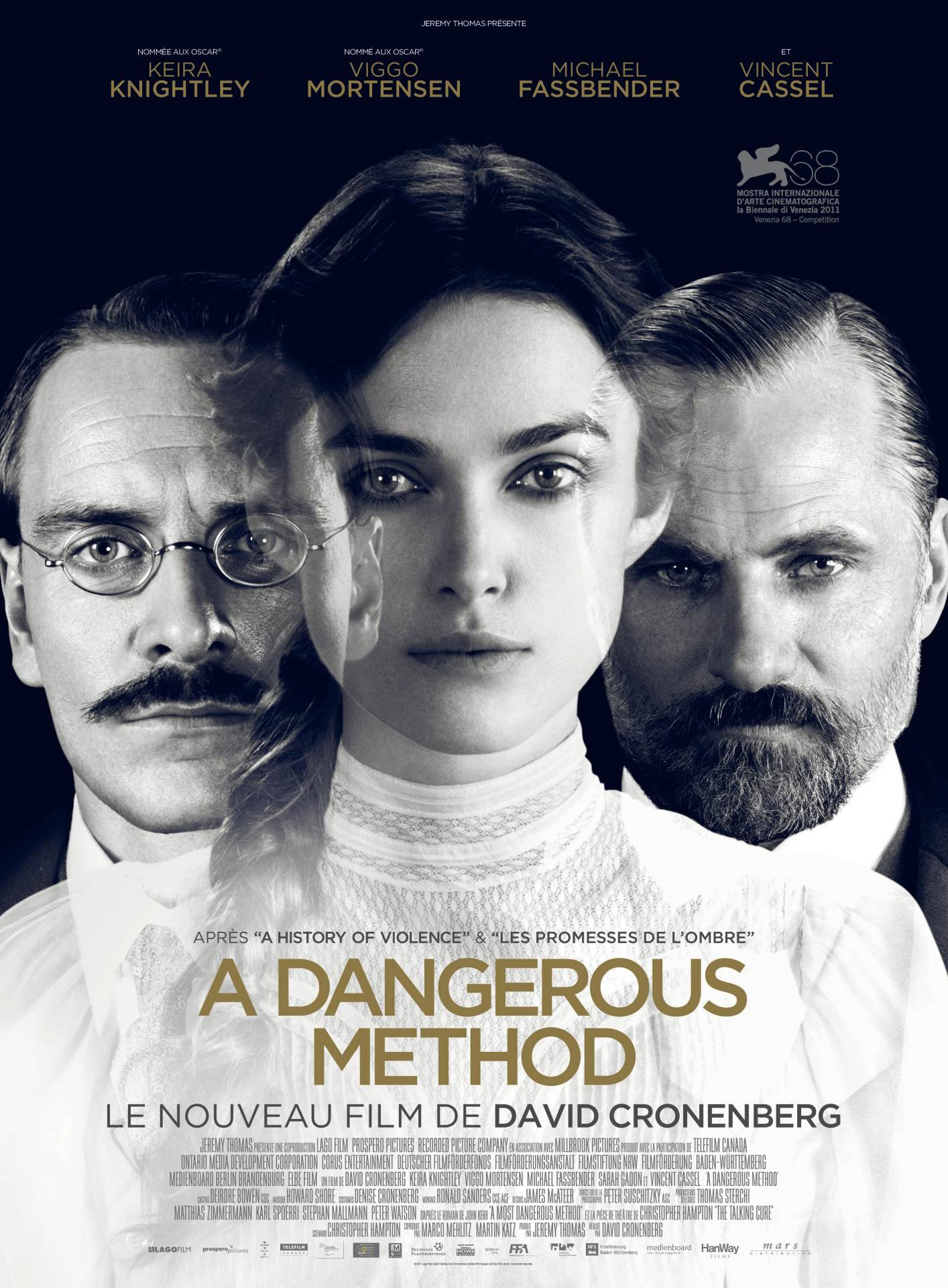 396adebc New Posters For 'A Dangerous Method,' 'The Raven,' 'The Woman' and ...