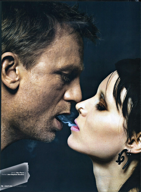 New 39 dragon tattoo 39 photos reveal closer glimpse of the for The girl with the dragon tattoo series order
