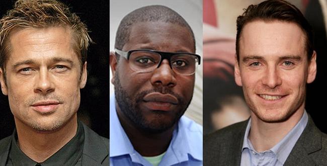 Fassbender e Brad Pitt Brad Pitt Joins Steve
