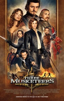 Three Musketeers New Movie Poster