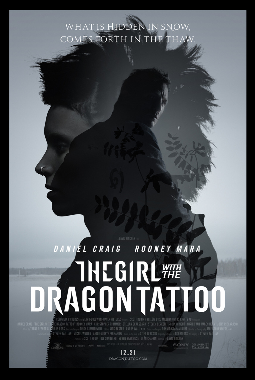 Review] The Girl with the Dragon Tattoo The Girl With The Dragon Tattoo Poster