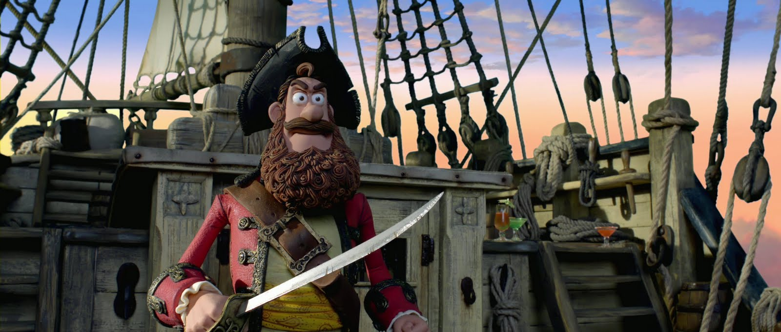 Us Trailer For Aardman Animation S The Pirates Band Of Misfits