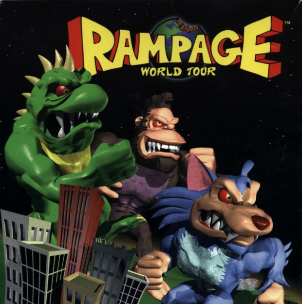 New Line To Adapt Classic Video Game Rampage For Big Screen