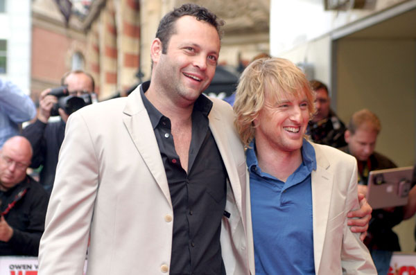 Photo of Owen Wilson & his friend  Vince Vaughn