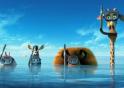 Madagascar 3 Europe's Most Wanted 2012 movie trailer impressions film trailer reviews 3-D sequels quadrilogy Alex Marty Gloria Melman