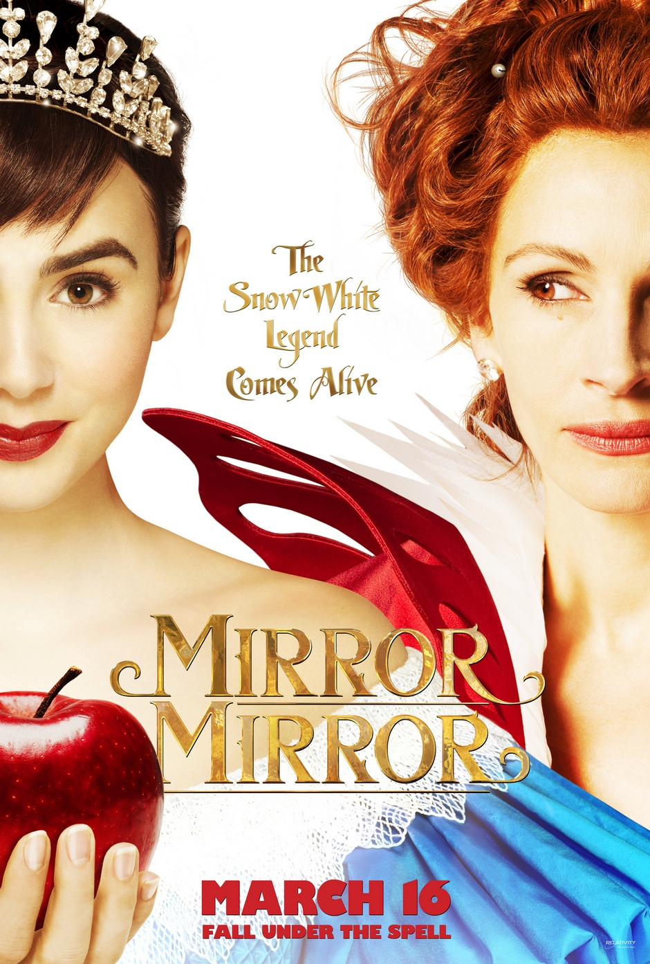 Review mirror mirror for Mirror mirror cast