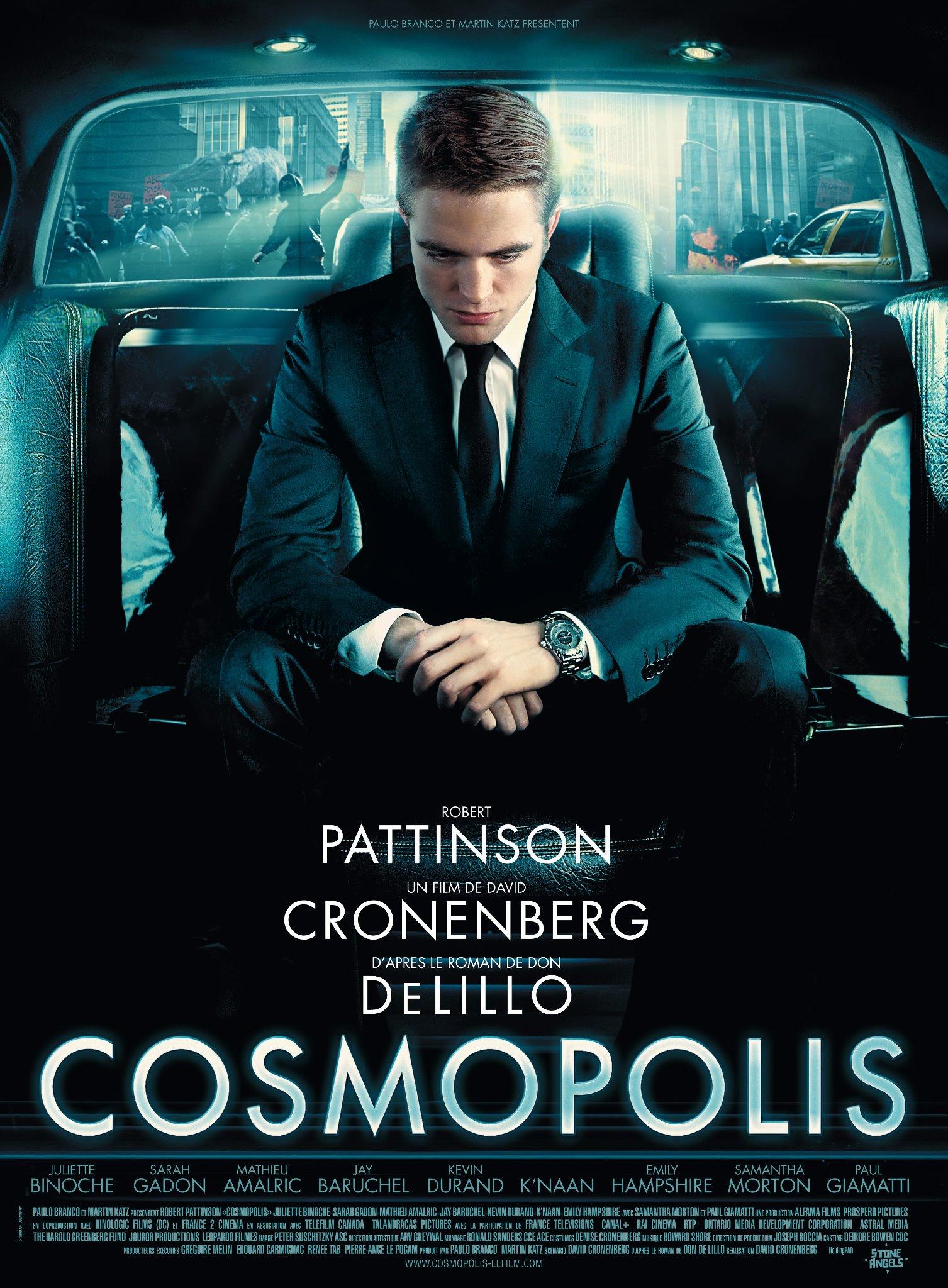 Teaser Trailer and Poster for Cosmopolis Starring Robert