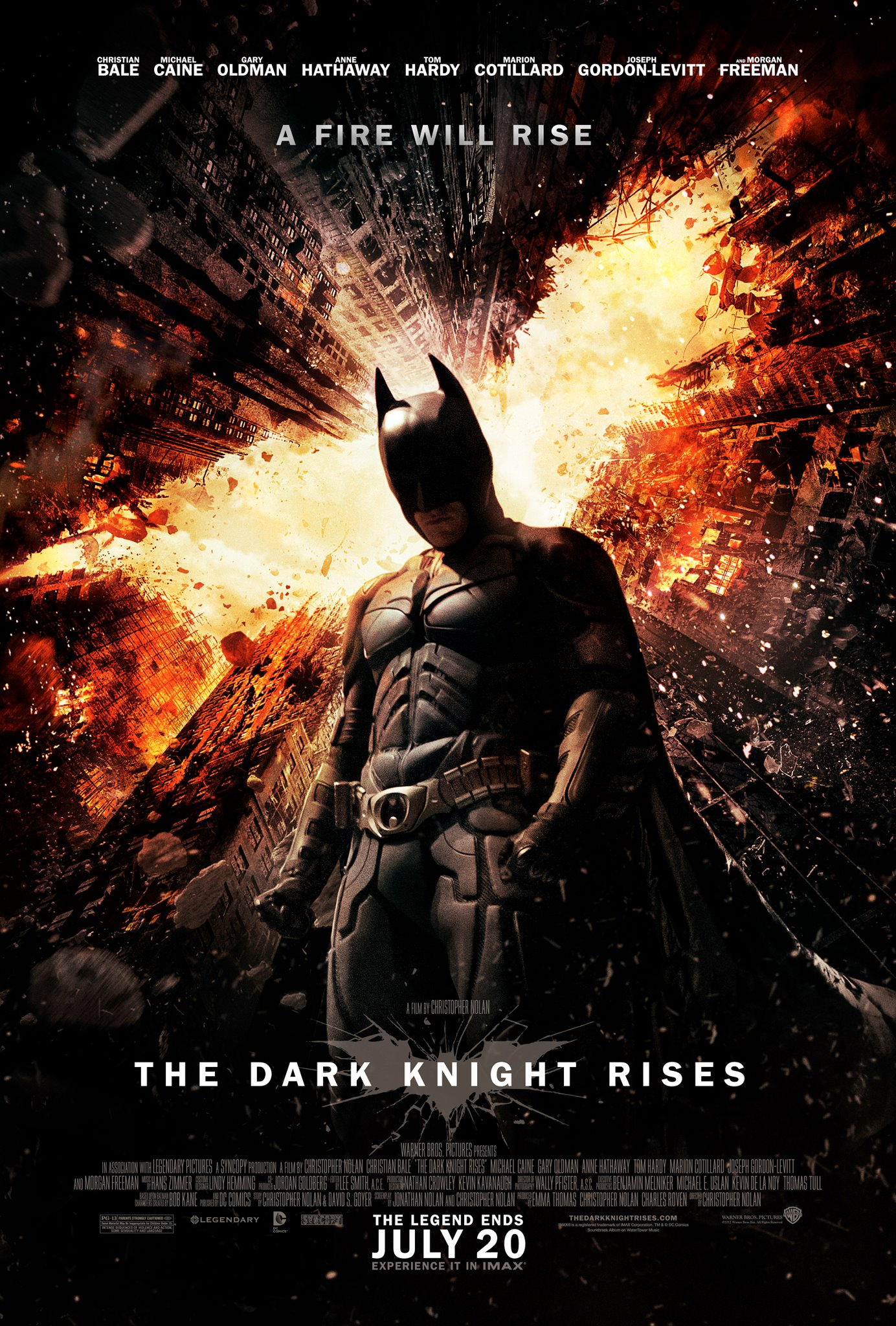 follow up to dark knight rises