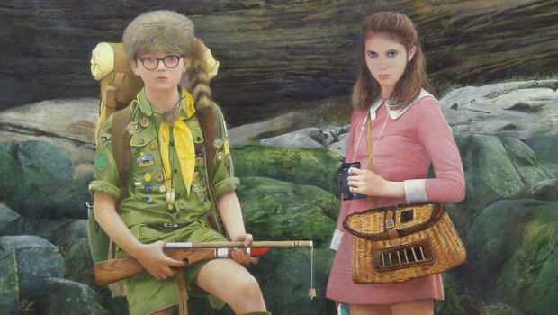 Moonrise Kingdom Painting At The End db