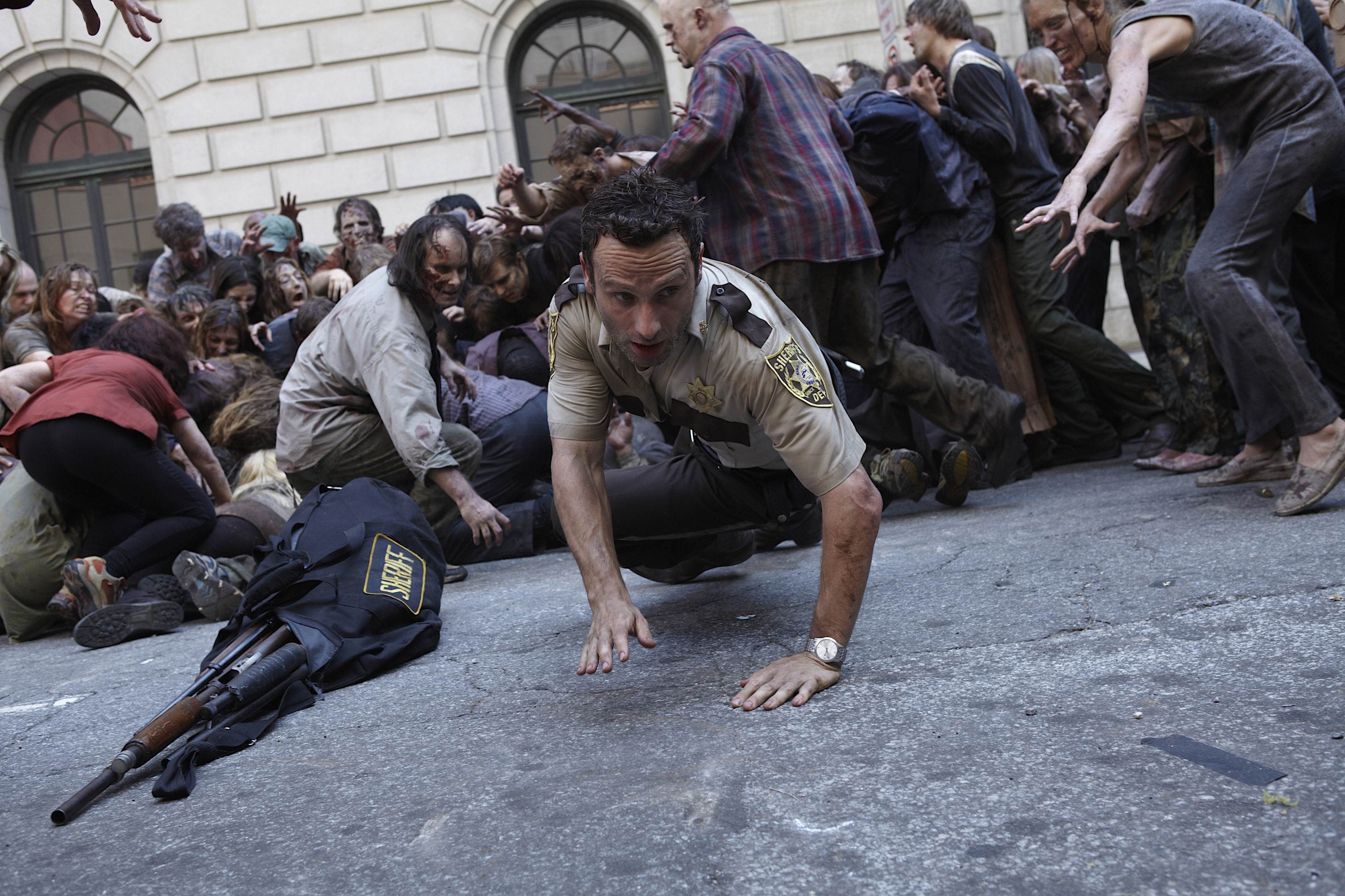 the walking dead is not universally praised for the content