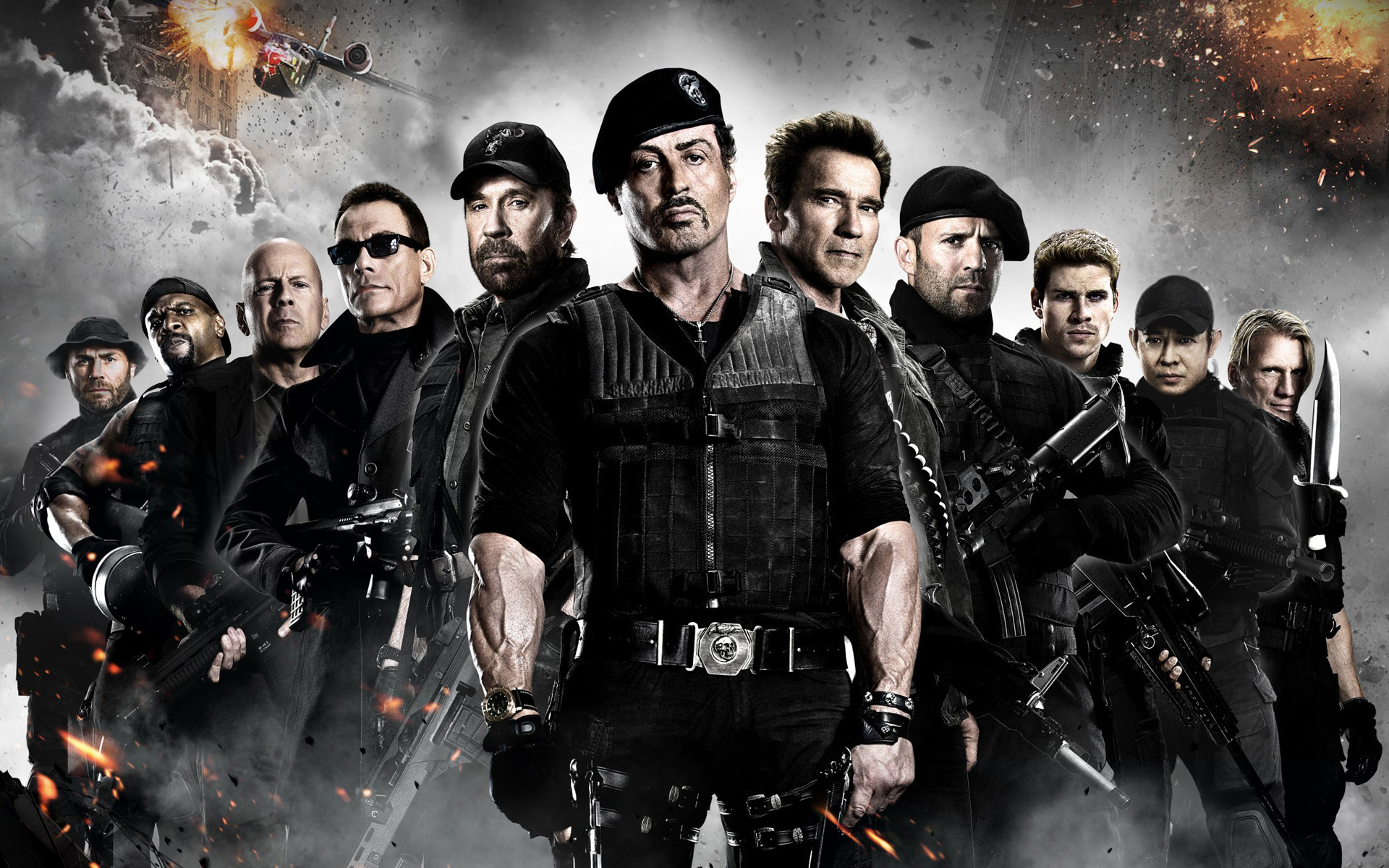 the expendables 3' and 'the mechanic 2' lined upnu image and