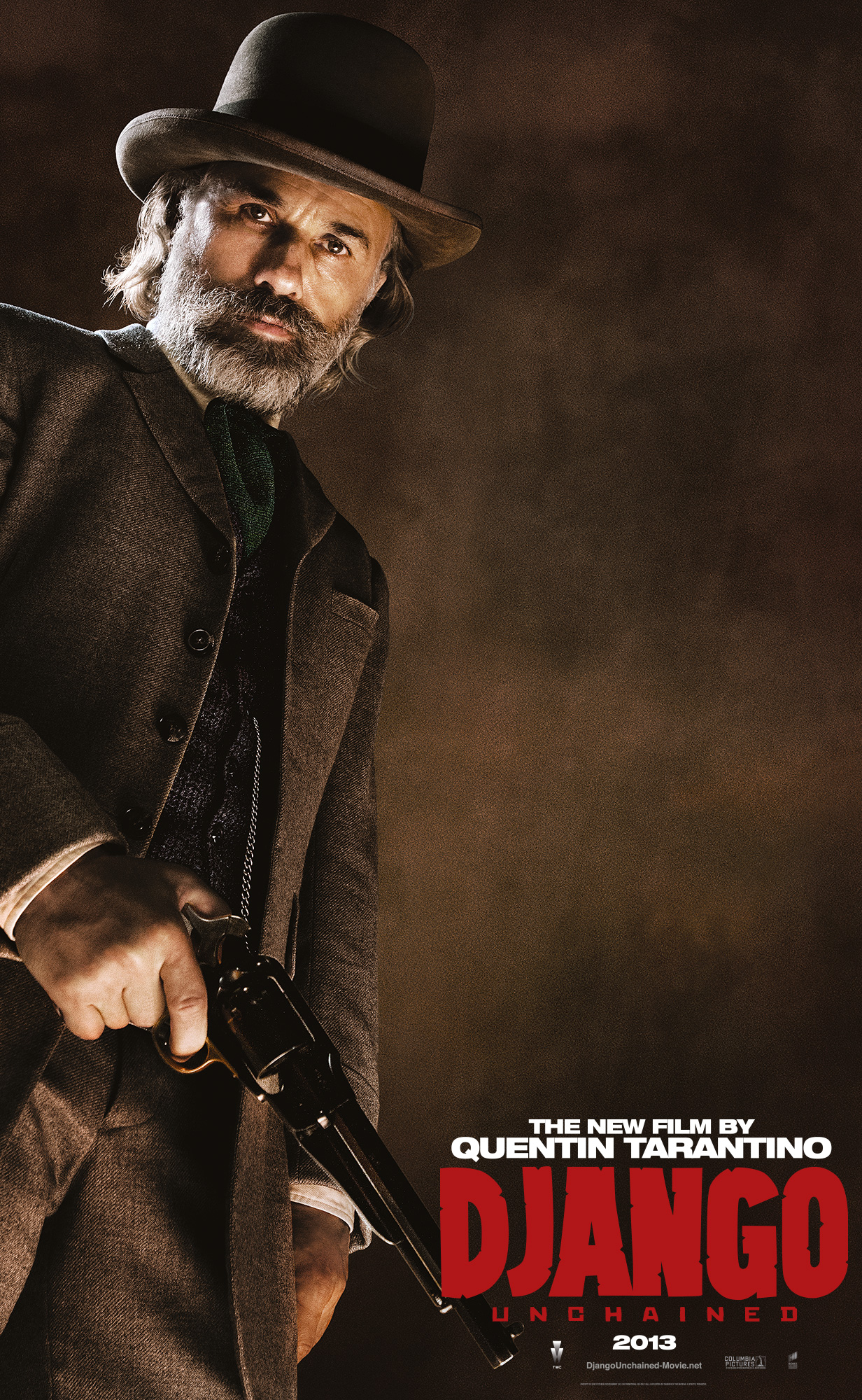 django unchained Django unchained tells the story of django (jamie foxx), a slave who is soon picked up by bounty hunter dr king shultz (christoph waltz) the story follows on as shultz takes on django as his deputy during their tasks of bounty hunting.