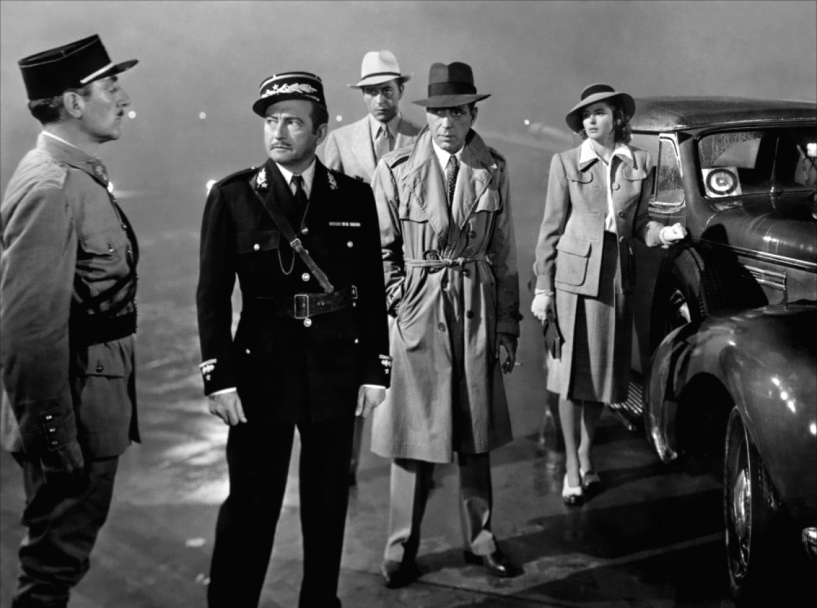 "casablanca the greatest screenplay The screenplay was adapted from a play of no great consequence in ""casablanca,"" he plays rick blaine."