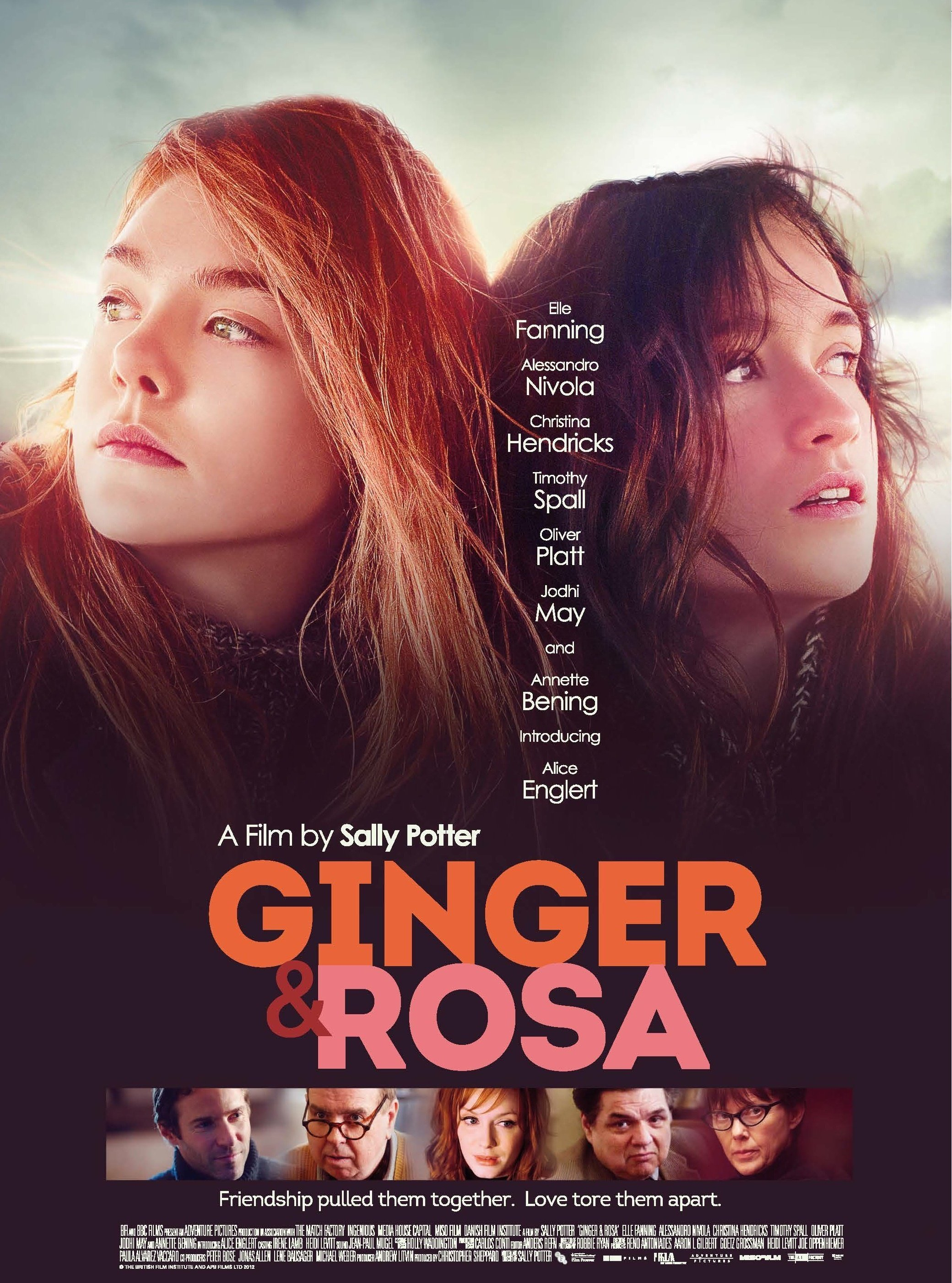 ginger and rosa stream