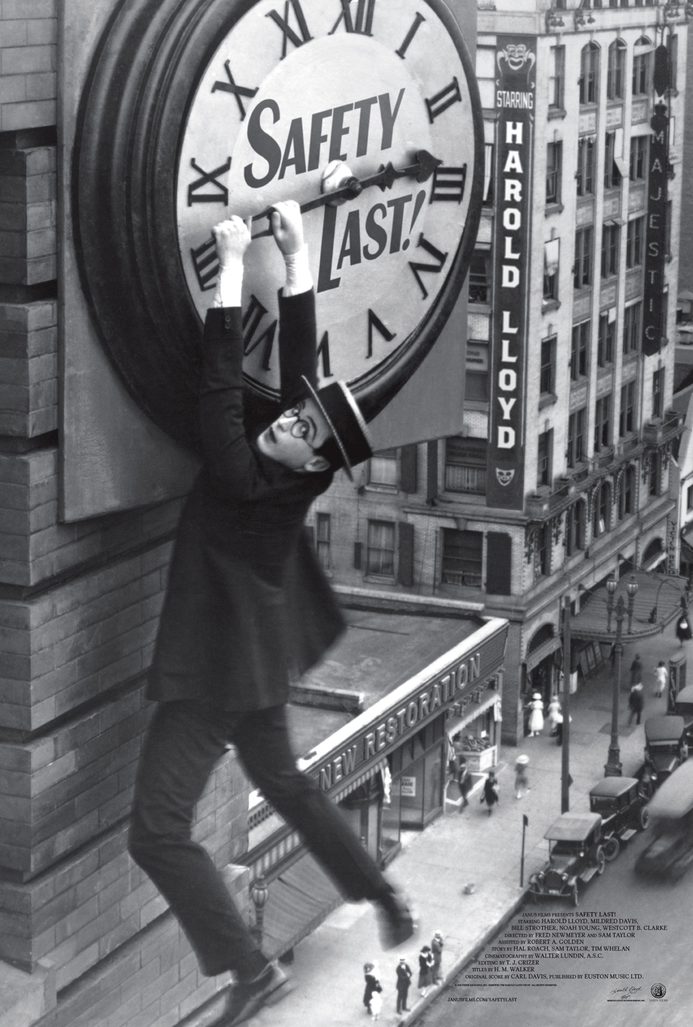 harold lloyd classic safety last gets trailer amp poster