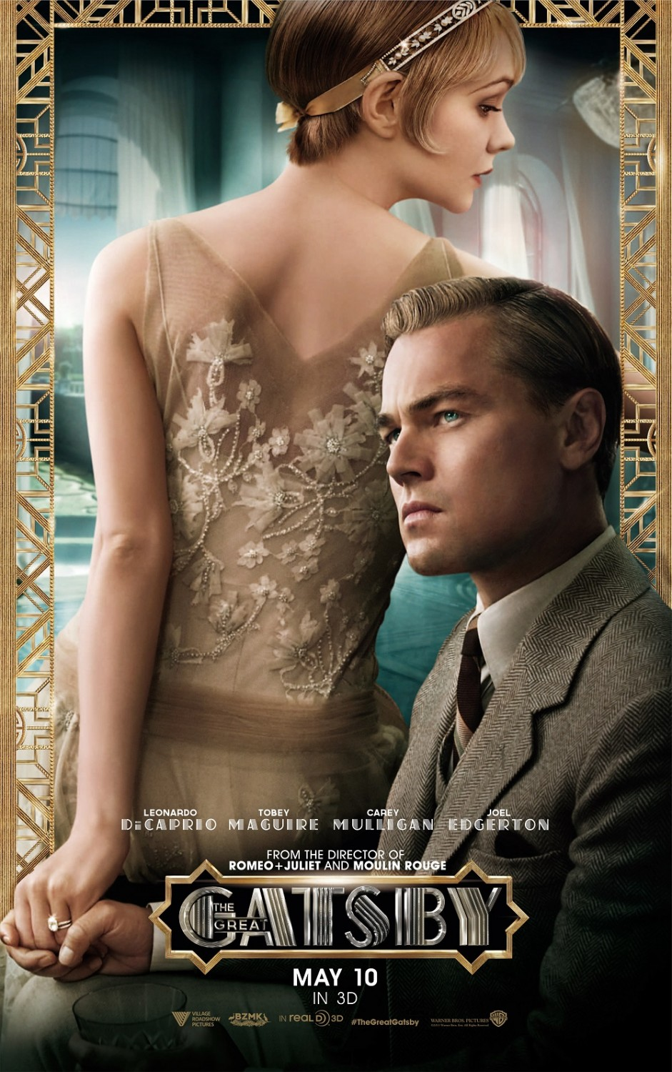 The great gatsby gets new uk trailer behind the scene stills and
