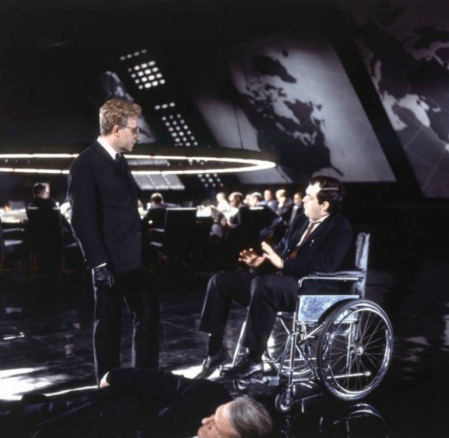 Peter Sellers As Dr Strangelove In Dr Strangelove Or: Watch: Documentary Details Production Of 'Dr. Strangelove
