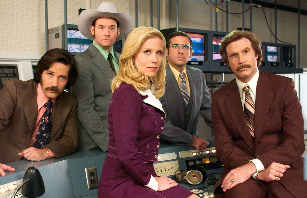 Cut of  Anchorman 2   With  Anchorman 2