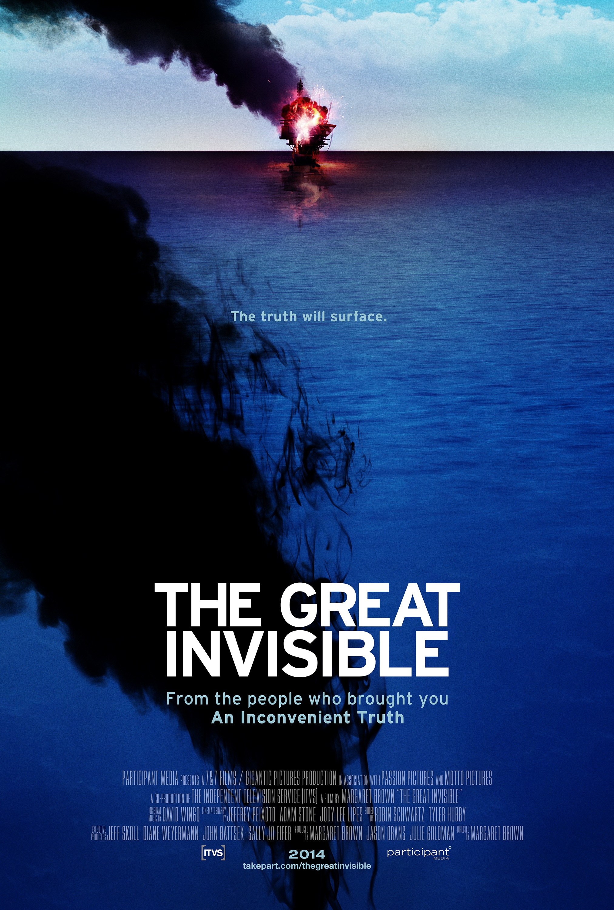 invisible poster movie horizon oil rig deepwater documentary spill gulf mexico today environmental disaster explosion