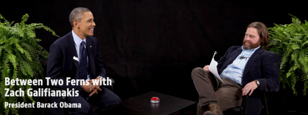 Watch: Barack Obama Stops By Zach Galifianakis' 'Between Two Ferns'