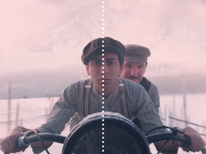 Wes Anderson Symmetry Grand Budapest Hotel