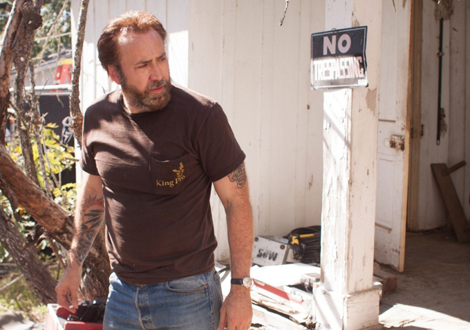 Nicolas Cage David Gordon Green And Tye Sheridan Discuss