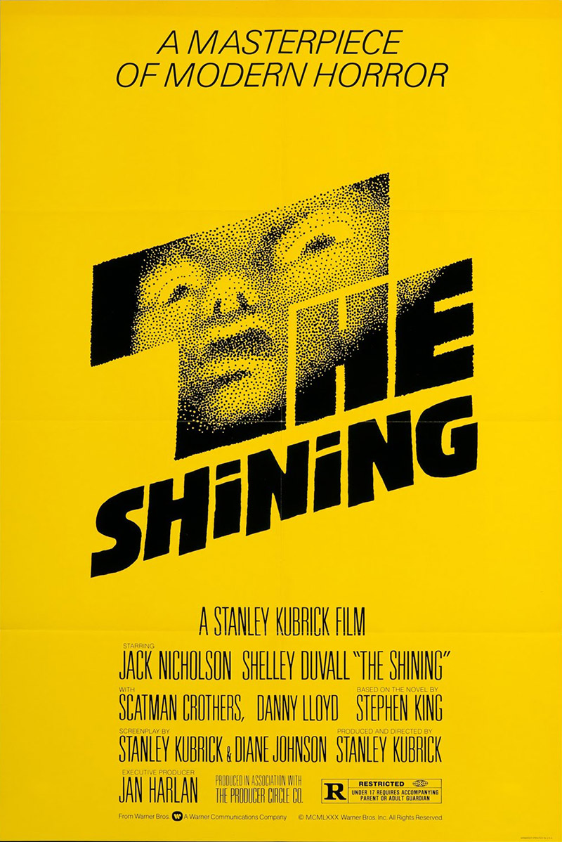 Rejected 'The Shining' Poster Designs From Saul Bass, With ...
