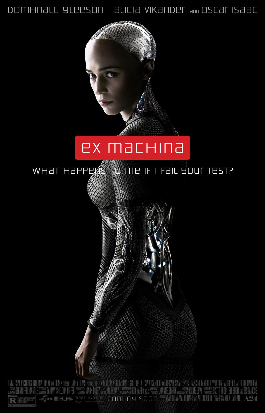 Exmachina nudity fucking video