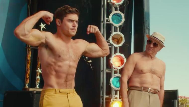 Zac Efron and De Niro get virtually naked in Dirty Grandpa