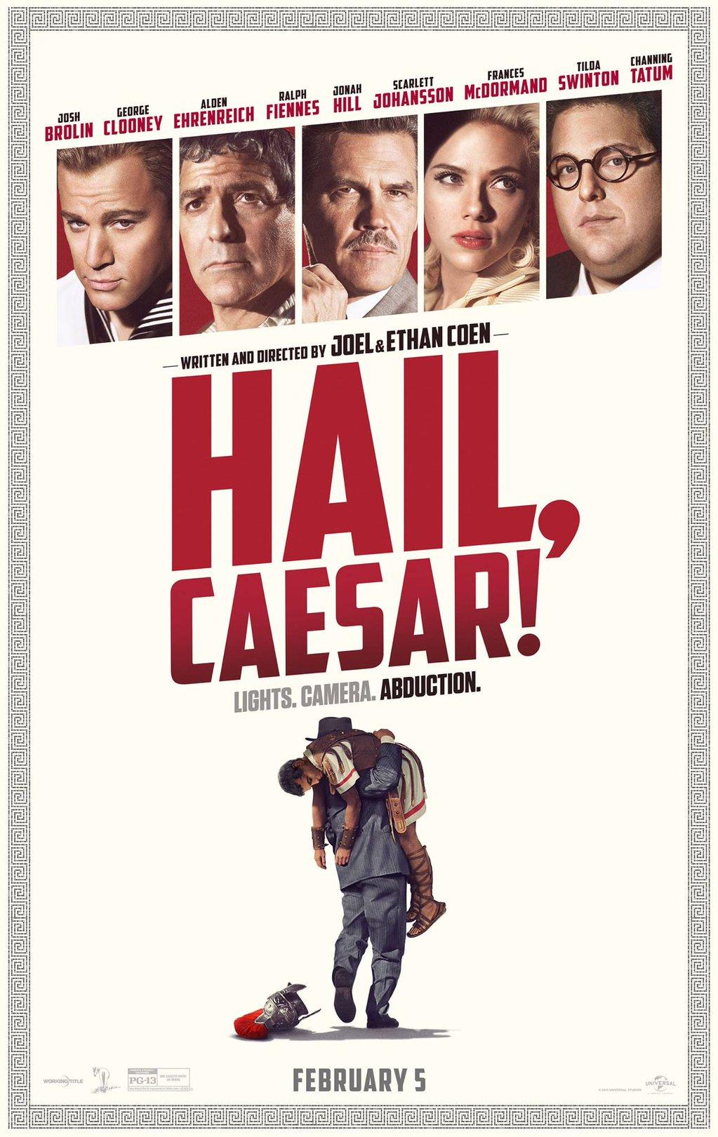 Hail Caesear poster