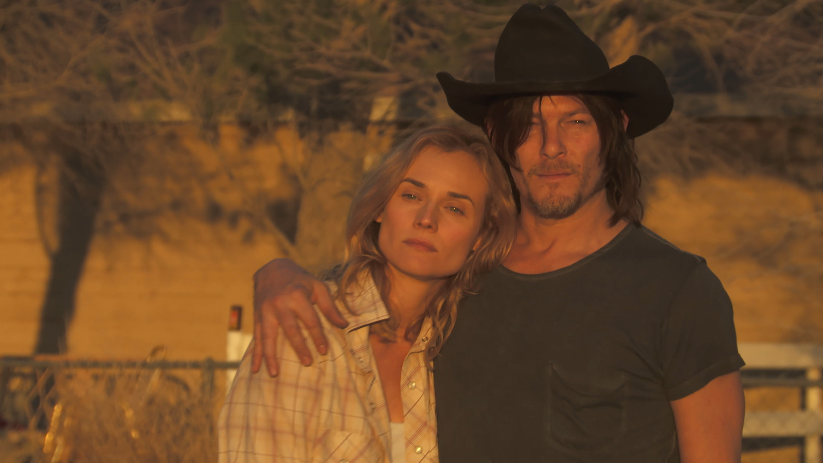 Diane Kruger Norman Reedus And Lena Dunham Hit The Road