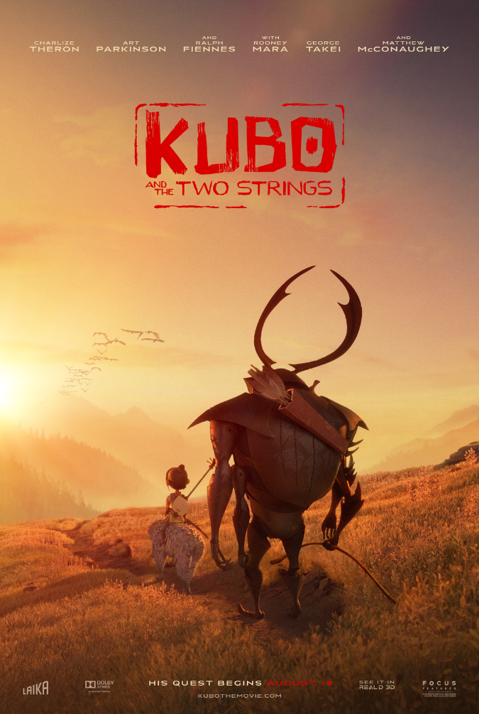 Kubo and the Two Strings poster 1