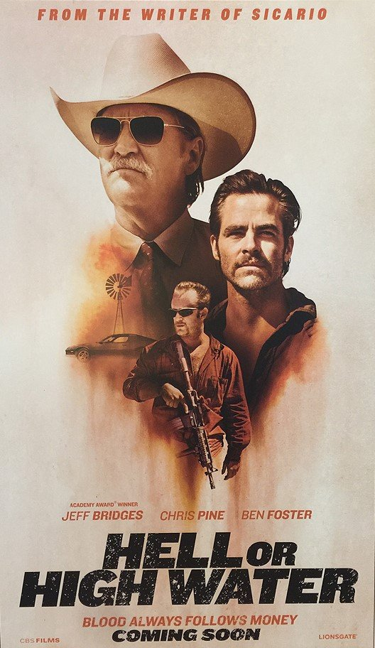 Hell or High Water poster 1