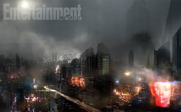 Blade Runner 2 Concept Art Illustrates a Gloomy Los Angeles