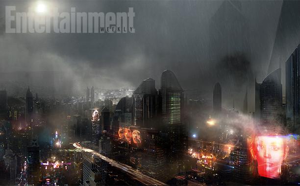 First Concept Art From Denis Villeneuve's 'Blade Runner' Sequel