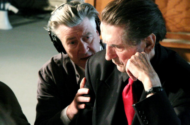 David Lynch and Harry Dean Stanton