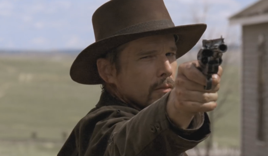 ethan hawke is 39 in a valley of violence 39 in first trailer
