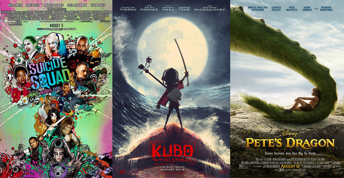 We look at the best & worst posters of August