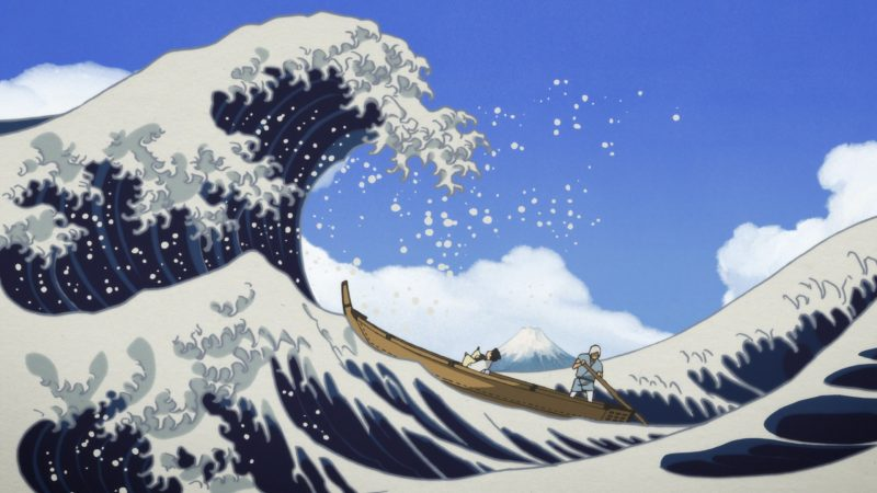 Review Miss Hokusai