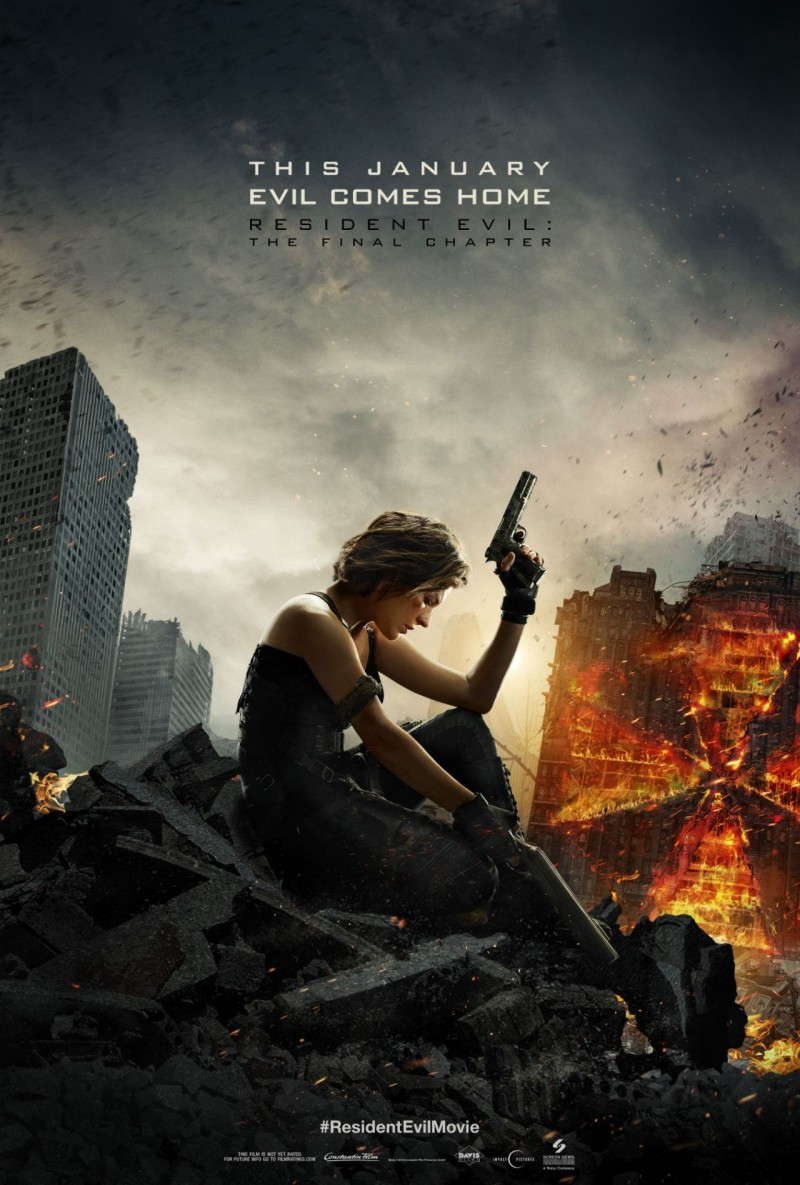 Review Resident Evil The Final Chapter Proves Paul W S