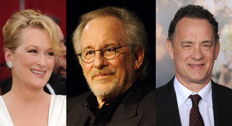 Steven Spielberg's Next Movie Stars Tom Hanks And Meryl Streep