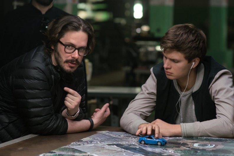 Edgar Wright in Baby Driver
