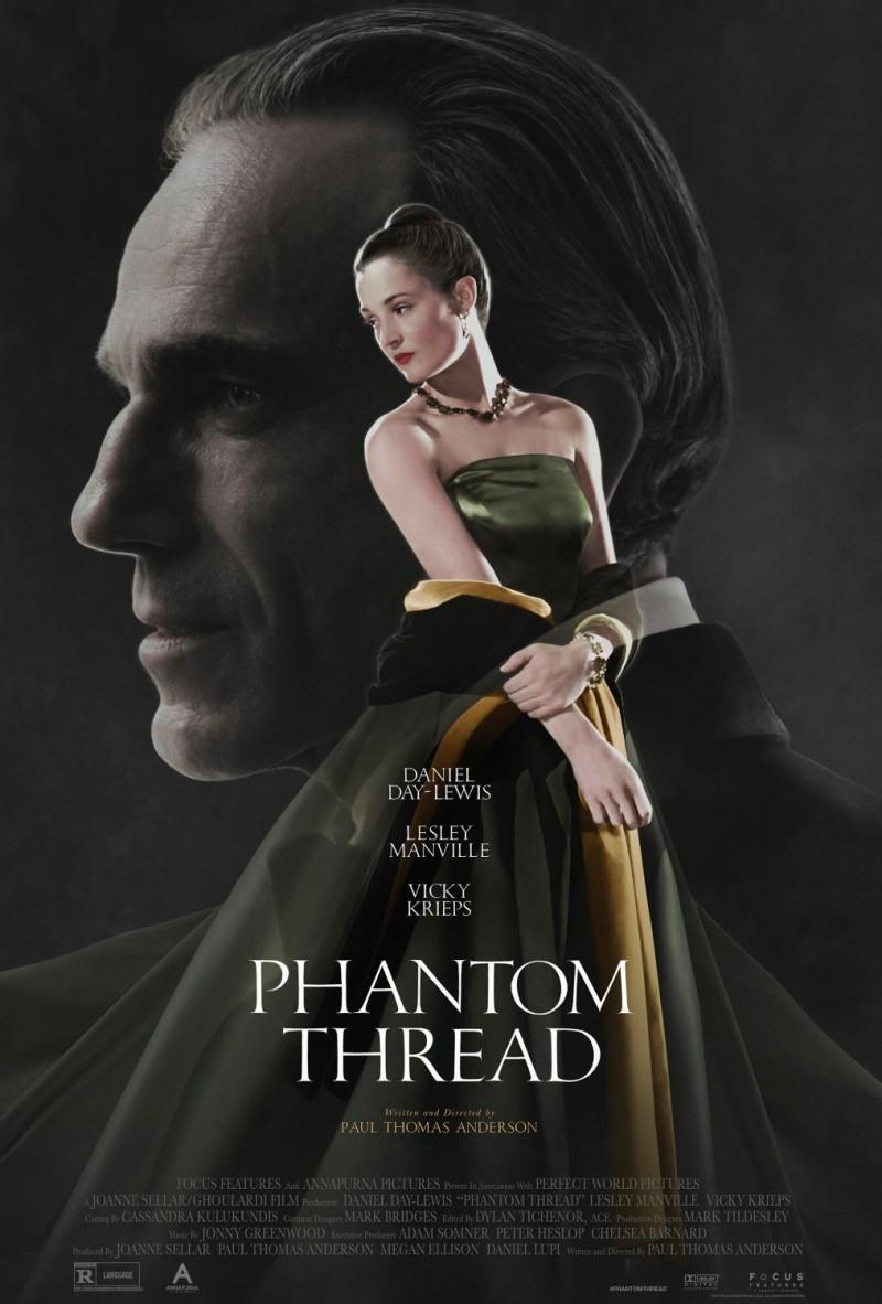 Phantom Thread Poster Movie Review Daniel