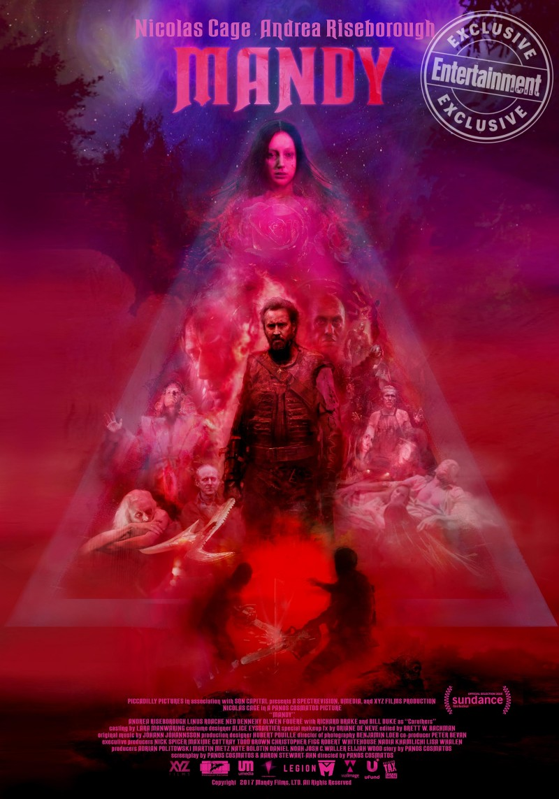 Sundance Review Mandy Sets A Maniacal Nicolas Cage On A Lsd Fueled Journey Of Revenge